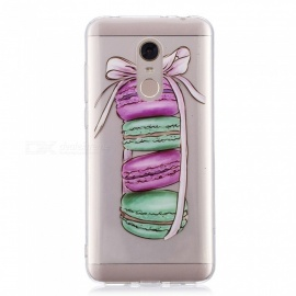 ESAMACT High-Quality Hamburger Pattern TPU Case / Back Cover for Xiaomi Red Mi 5Plus