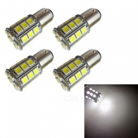 HONSCO 4Pcs BAY15D LED Bulbs, 1157 27SMD 5050 Tail Signal Brake Stop Reverse DRL Lights, DC12V 3W