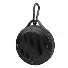 Mini Portable Waterproof Subwoofer Wireless Bluetooth Speaker with Carabiner - Diamond Ash