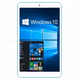 "Win 10 Tablet PC w/ 8"" IPS, 2GB RAM, 32GB ROM - White + Light Blue"