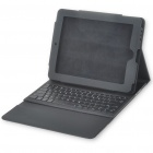 Bluetooth V2.0 Wireless Keyboard with Protective Case for Apple iPad - Black