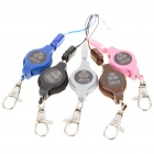 Retractable Strap Cord Kit with Clip Cell Phone/MP3/MP4 Holder Keeper - Color Assorted