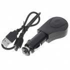 Solar/Car Charger Powered Rechargeable Bluetooth V2.1+EDR Handsfree Set
