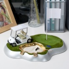 Unique Golf Style Cigarette Holder with Lighter + Ashtray Set