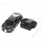 Cool R/C 2-CH Model 1:32 Scale Plastic Racing Car - Deep Grey (3 x AA/2 x AA)