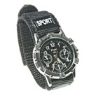 Stylish Sports Tachometer Watch (Black)