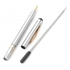 2-in-1 Ballpoint Pen + Capacitive Touchpad Stylus Pen for   Ipad/Iphone/Touch - Color Assorted