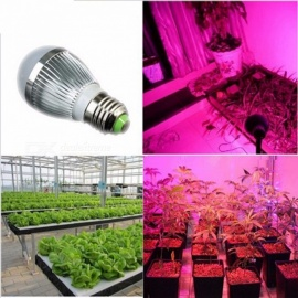 1PC LED Waterproof Plant Growth Bulb Hydroponic Lamp Red Blue Full Spectrum Lampshade Bedroom LED Lamp Light Red/E27/85-265V