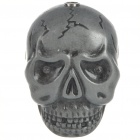 Novelty Scare Skull Style Butane Lighter with Terrible Sound Laughter & Red Flashing Eyes (3*LR41)