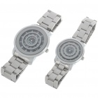 Fashion Sweet Lover Couple Wrist Watch (1*377/1-Pair)