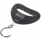 Precision Electronic Portable Digital Escala colgante - Negro (40 kg X 0,01 kg)