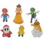 Cute Super Mario Figure Toys (6-Pack)