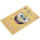 Cute SpongeBob Pattern Card Style USB Flash Drive (4GB)