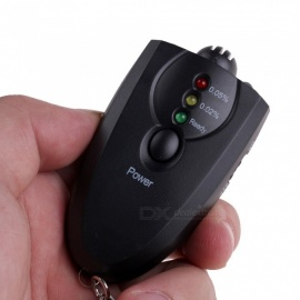 Mini Keychain Portable Breath Analyzer LED Flashlight Display Portable Alcohol Breath Tester Breathalyzer
