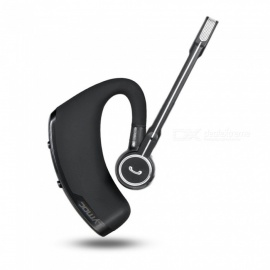 V8 Business Bluetooth Headset, Wireless Earphone, Car Bluetooth V4.1 Earbuds W/ Handsfree MIC For IPHONE Xiaomi Samsung Black