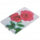 Credit Card Style USB 2.0 Rechargeable MP3 Player - Rose (4GB)