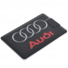 Credit Card Style USB 2.0 Rechargeable MP3 Player - Audi (4GB)