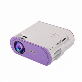 P-368 Mini Portable Video Projector Multimedia Home Theater Video Projector Digital Projector With 1000 Lumens white