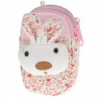 Cute Rabbit Pattern Double-Pocket Wrist Bag (Color Assorted)