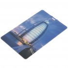 Stylish Burj Al Arab Hotel Pattern Card Style USB Flash Drive (8GB)