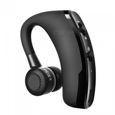 Measy V9 Handsfree Business Bluetooth Headphone with Mic & Voice Control, Noise Cancelling Wireless Earphone Headset for Drive