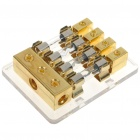 SX Power 4-Channel Car Power Fuse - Small (DC 12V/80A)