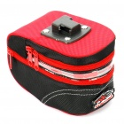 Cycling Bike Bicycle Tail Bag with LED 2-Mode Flashing Red Light Strip (2*AA)
