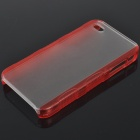 Protective Matte Frosted Hard Plastic Back Case for Iphone 4 - Color Assorted