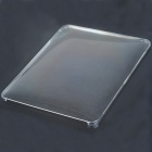 Protective Hard Plastic Back Case for Apple iPad - Transparent
