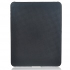 Protective Woven-Mat Pattern Hard Plastic Back Case for   Ipad - Black