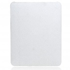 Protective Shining Maze Pattern Hard Plastic Back Case for Apple iPad - White