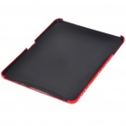Protective Diamond Flower Pattern Hard Plastic Back Case for   Ipad - Red