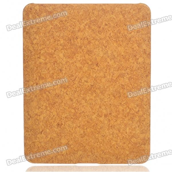 Protective Marble Pattern Hard Plastic Back Case for   Ipad - Brown