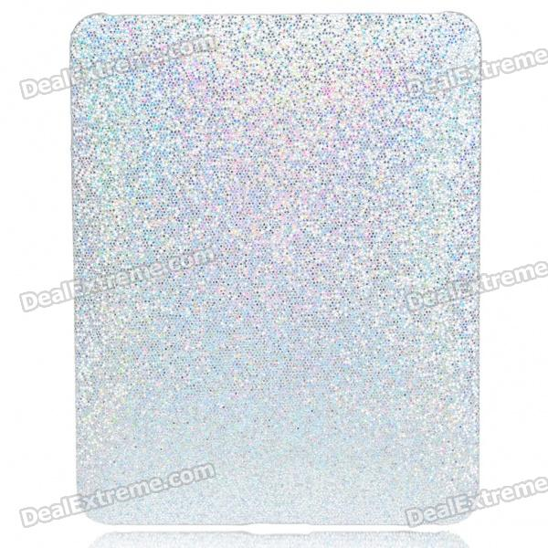Protective Paillette Style Hard Plastic Back Case for   Ipad - Silver