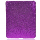 Protective Paillette Style Hard Plastic Back Case for   Ipad - Purple