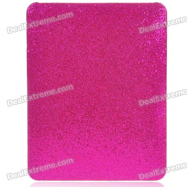 Protective Paillette Style Hard Plastic Back Case for   Ipad - Red