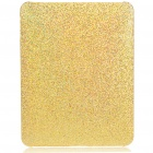 Protective Paillette Style Hard Plastic Back Case for   Ipad - Golden Yellow
