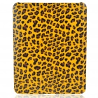 Protective Leopard Style Hard Plastic Back Case for   Ipad - Brown