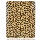Protective Leopard Style Hard Plastic Back Case for   Ipad - Beige