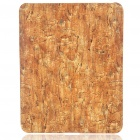 Protective Granite Style Hard Plastic Back Case for   Ipad - Brown