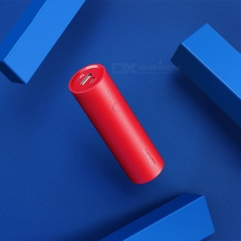 Anker Mini Pocket-Size 5000mAh Column Power Bank, Fast Charge Portable External Battery For Cell Phones Red