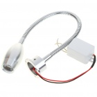1W 170LM 6500K Flexible Neck White LED Spot Light with LED Driver (AC 85~265V)