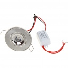 3W 170-Lumen 3500K Warm White LED Ceiling Lamp/Down Light with LED Driver (AC 86~265V)