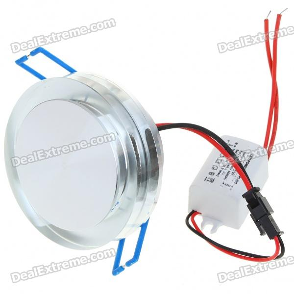 3W 170-Lumen 6500K White LED Ceiling Lamp/Down Light with LED Driver (AC 86~265V) цены онлайн