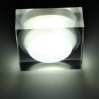 3W 300-Lumen 6500K White 3-LED Ceiling Lamp/Down Light with LED Driver (AC 86~265V)