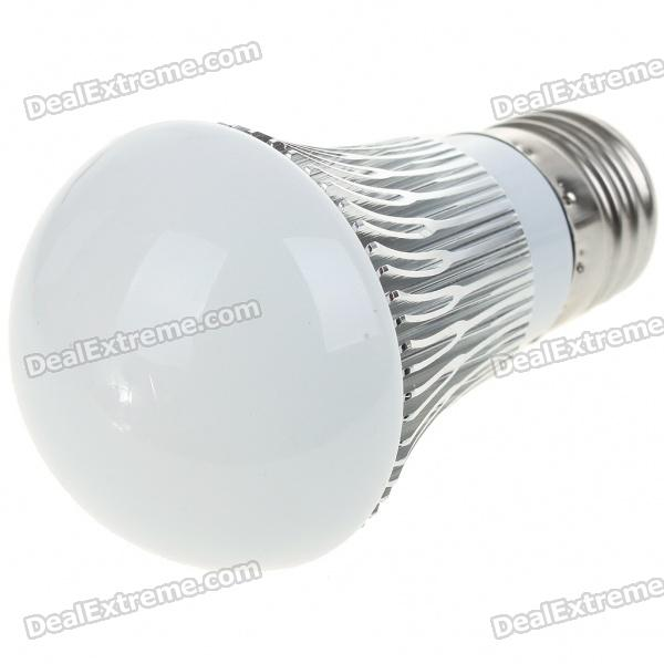купить E27 3W 300-Lumen 6500K 3-LED White Light Lamp Bulb (AC 85~265V) онлайн