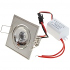 3W 170-Lumen 6500K White LED Ceiling Lamp/Down Light with LED Driver (AC 86~265V)