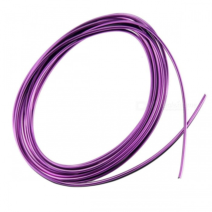 CARKING 5m Purple Flexible Trim Interior Moulding Decorative Strip W/  Scraper For Car   Free Shipping   DealExtreme