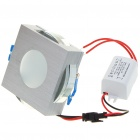 3W 170 Lumen 3500K Warm White LED plafonnier / Down Light avec LED Driver (AC 86 ~ 265V)