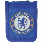 Football/Soccer Team Logo 5-Pocket ID Card/Badge Holder/Bag with Neck Strap - Chelsea